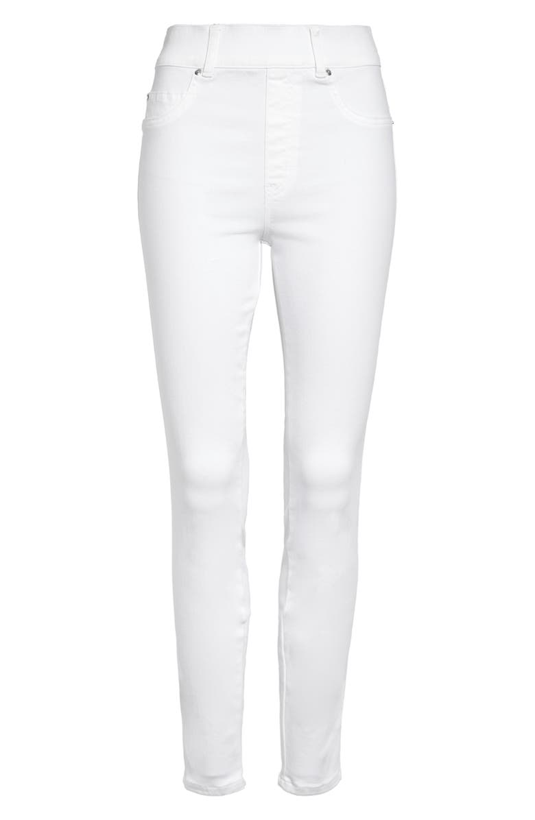 SPANX<SUP>®</SUP> Ankle Skinny Jeans, Main, color, WHITE