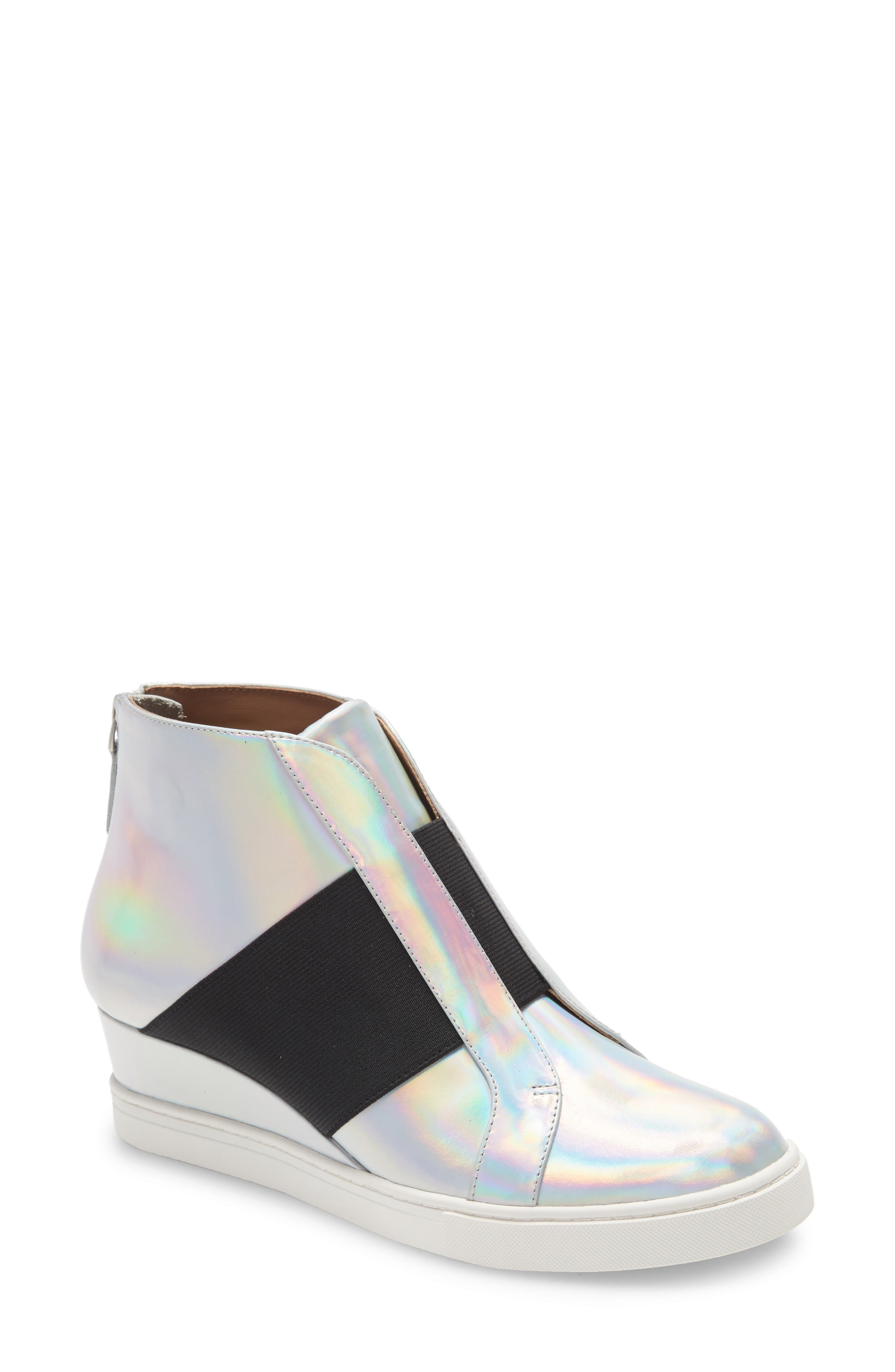 Amber Wedge Sneaker