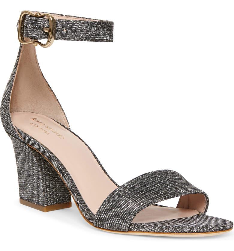 KATE SPADE NEW YORK susane sandal, Main, color, SMOKE