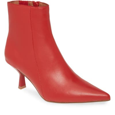 Jeffrey Campbell Egnyte Sock Bootie, Red