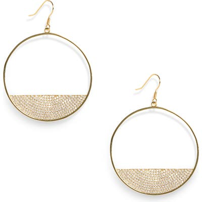 Lisa Freede Eclipse Hoop Earrings