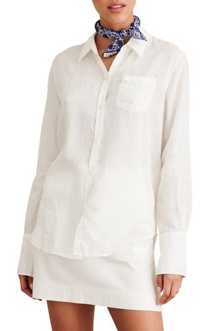 Image of ALEX MILL Standard Linen Button-Up Shirt