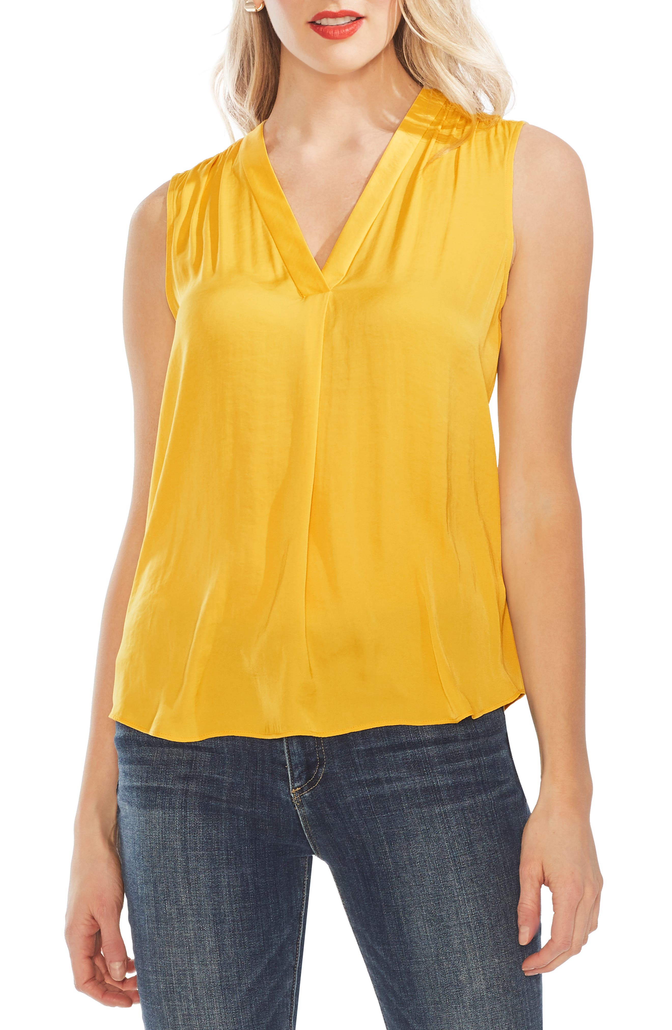 ,                             Rumpled Satin Blouse,                             Main thumbnail 83, color,                             779