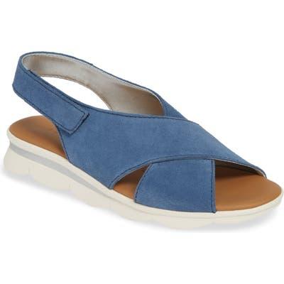 The Flexx Capri Slingback Sandal- Blue