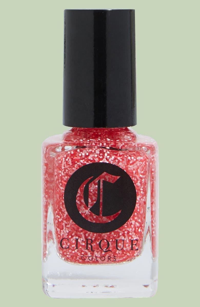 CIRQUE COLORS Glitter Nail Polish, Main, color, 950