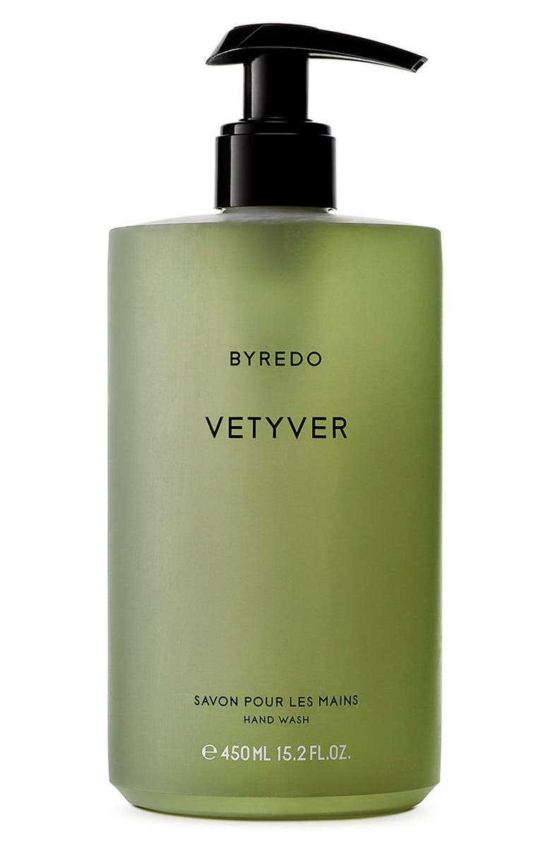 BYREDO Vetyver Hand Wash, Main, color, NO COLOR