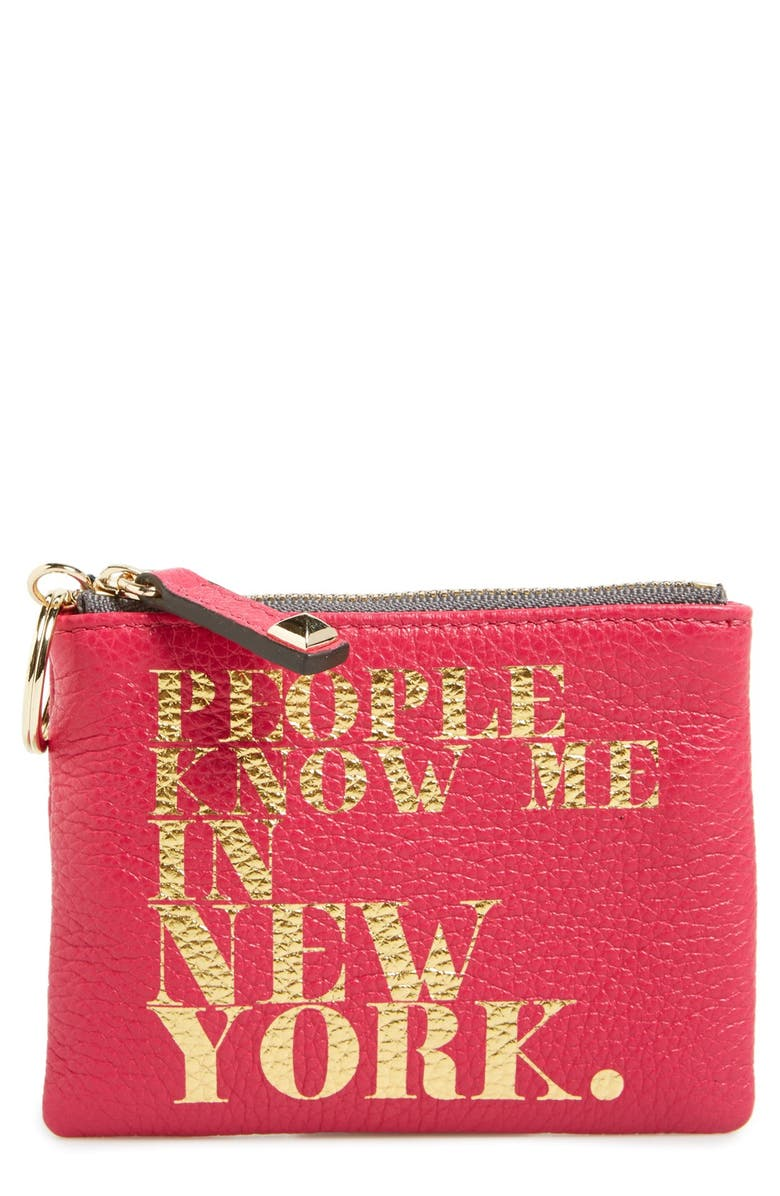 REBECCA MINKOFF 'Betty - People Know Me' Pouch, Main, color, 650