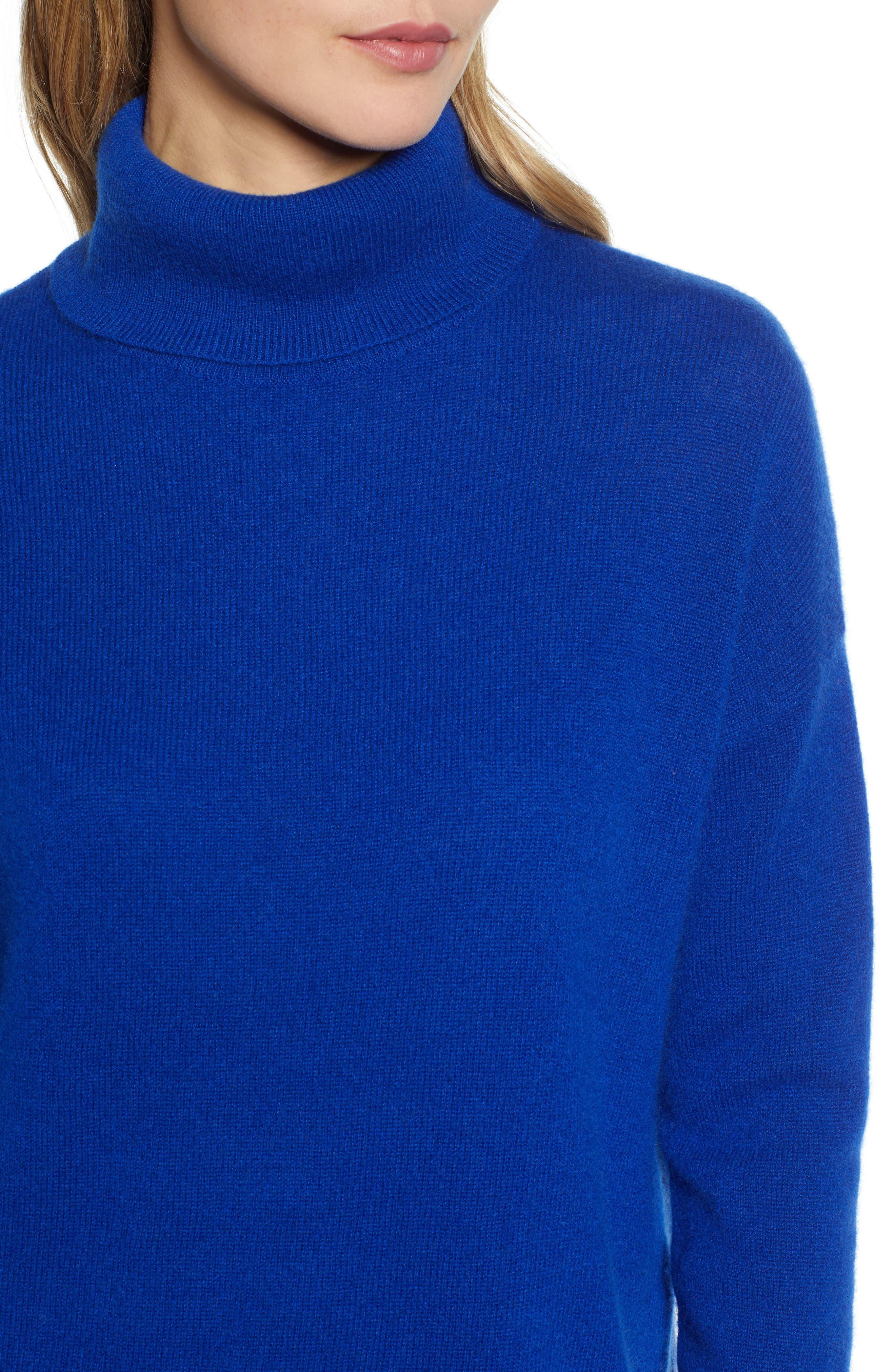 ,                             Cashmere Turtleneck Sweater,                             Alternate thumbnail 28, color,                             401
