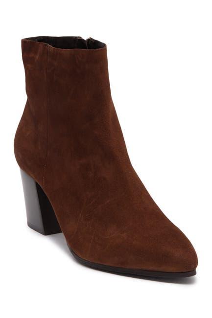 Image of Aquatalia Giana Leather Block Heel Boot