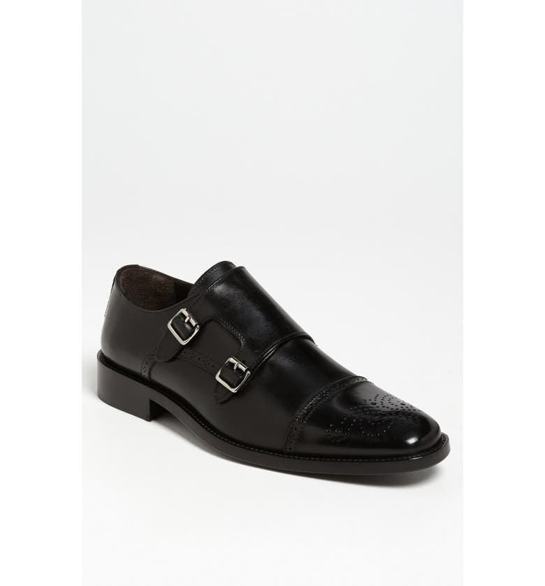 TO BOOT NEW YORK 'Mason' Double Monk Strap Slip-On, Main, color, 001