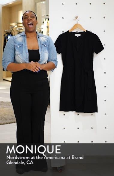 Texture & Thread Short Sleeve Side Tie Dress, sales video thumbnail