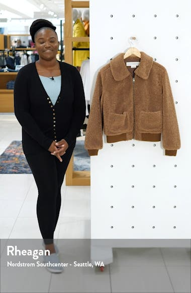 Faux Shearling Teddy Jacket, sales video thumbnail