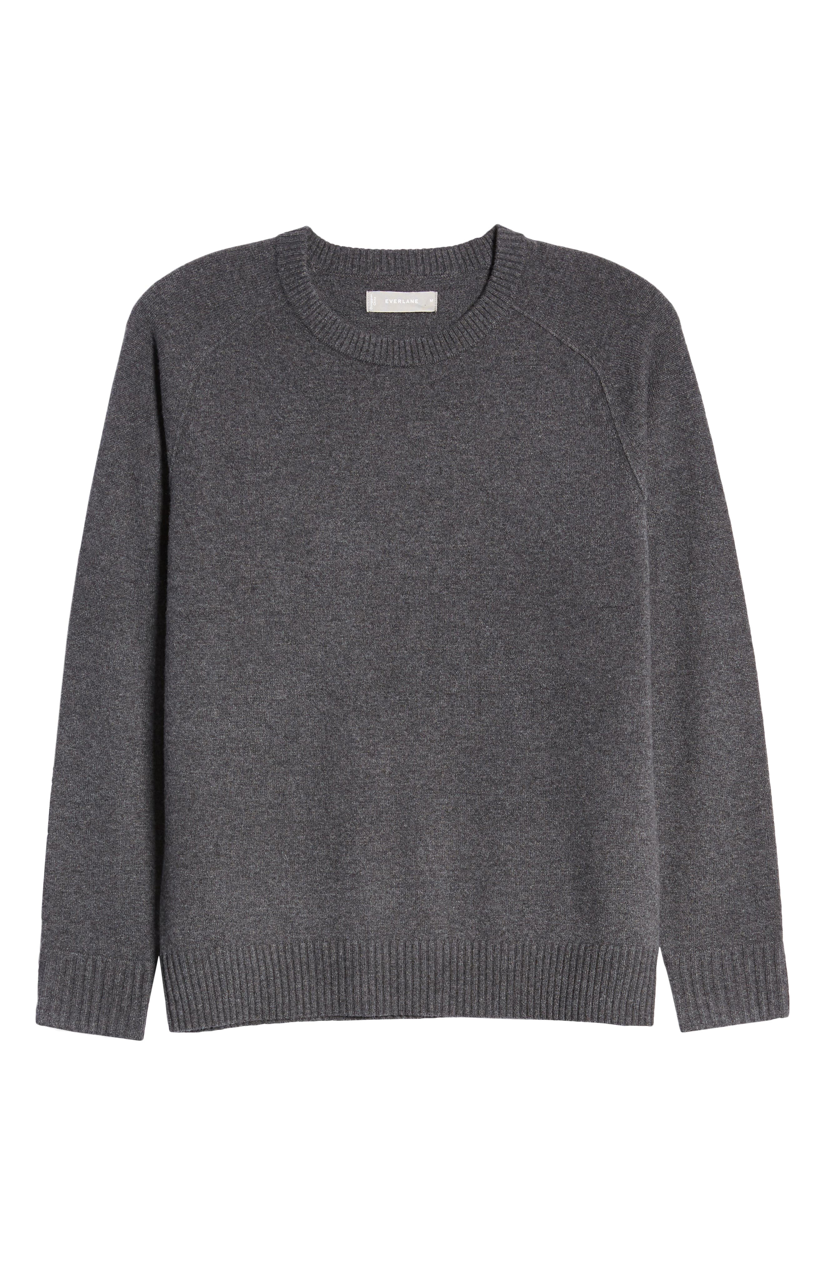 Image of EVERLANE Cashmere Blend Crew Neck Sweater
