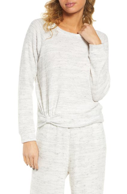 Image of Socialite Waffle Knit Pullover