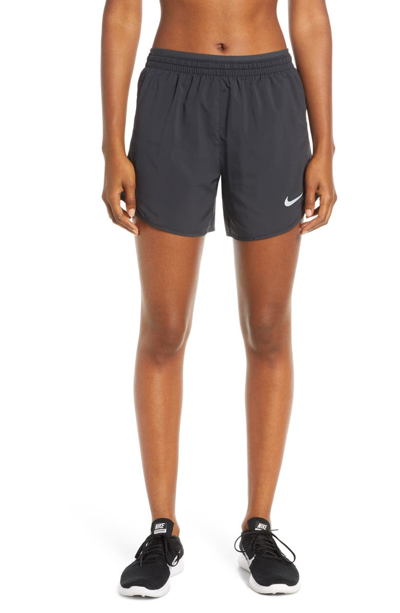 NIKE Tempo Lux Running Shorts, Main, color, BLACK/ ANTHRACITE