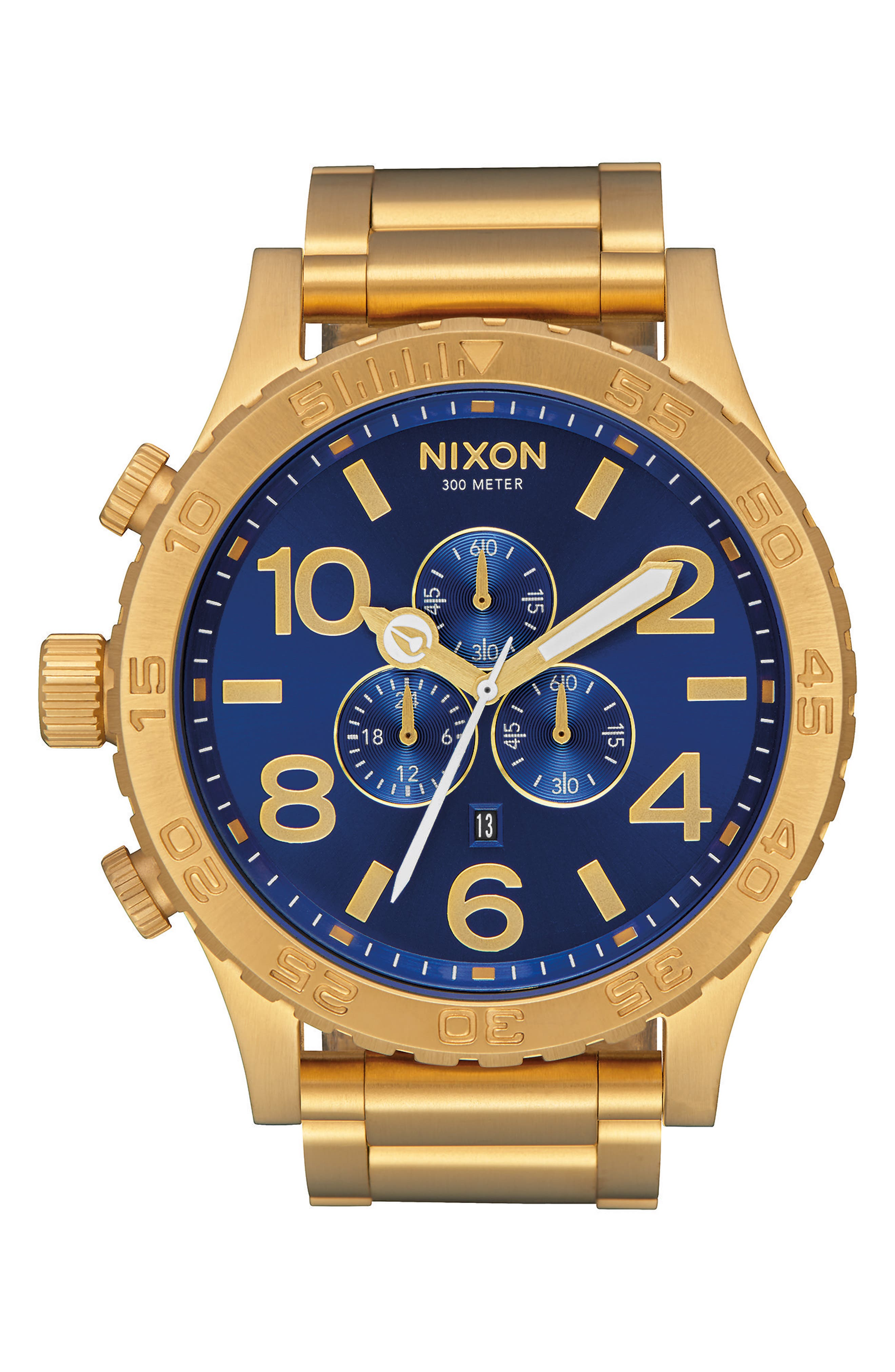 ,                             'The 51-30 Chrono' Watch, 51mm,                             Main thumbnail 33, color,                             715
