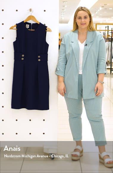 Crepe Fit & Flare Dress, sales video thumbnail