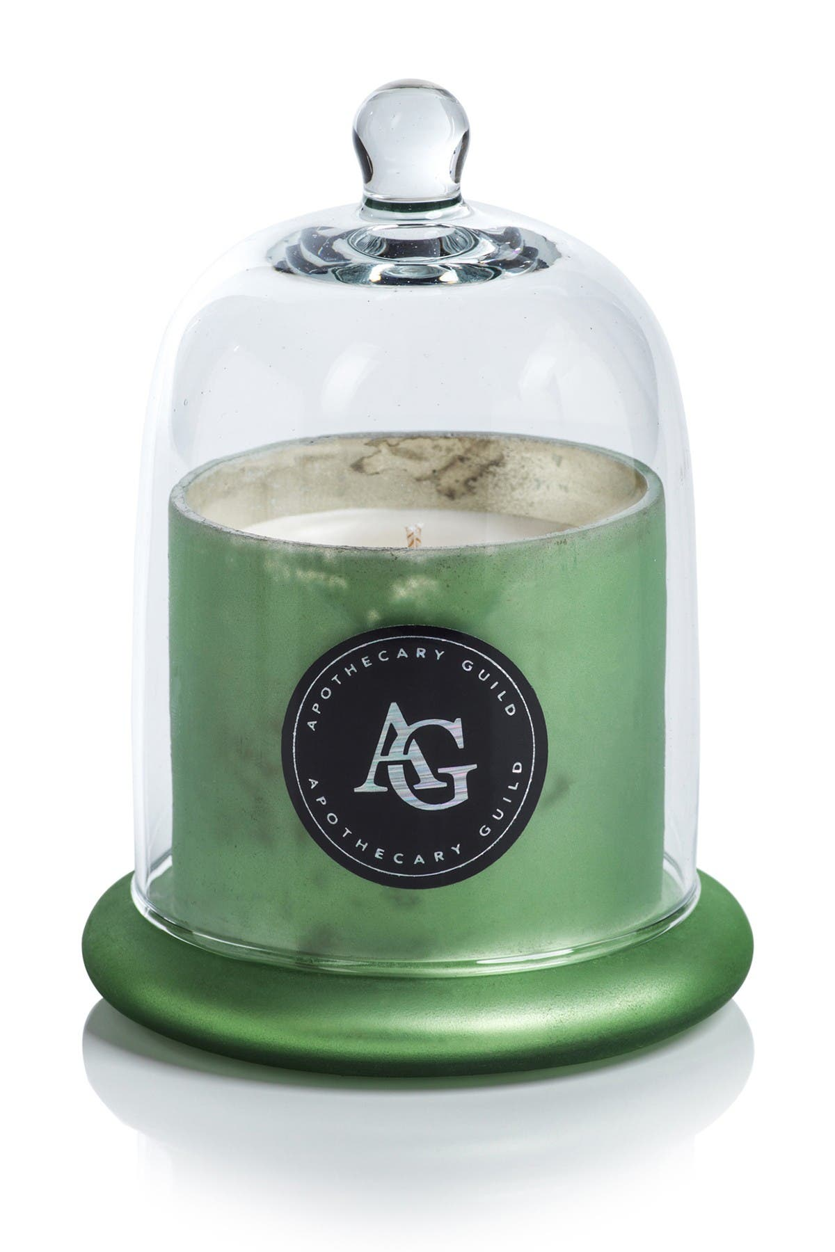 Image of Zodax Green Frosted Candle Jar