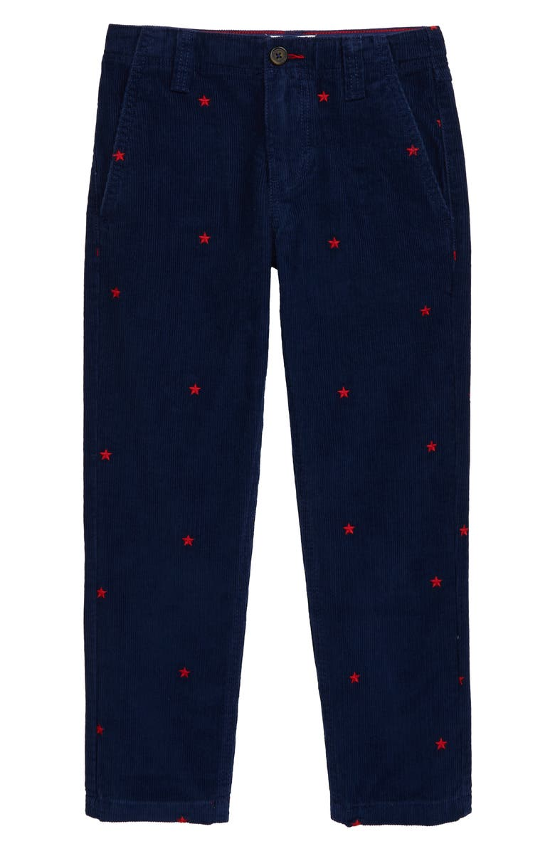 MINI BODEN Relaxed Corduroy Pants, Main, color, COLLEGE BLUE