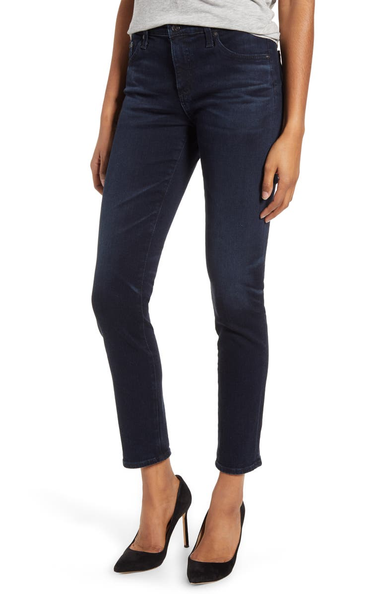 AG Prima Ankle Skinny Jeans, Main, color, 3YRS INQUIRE