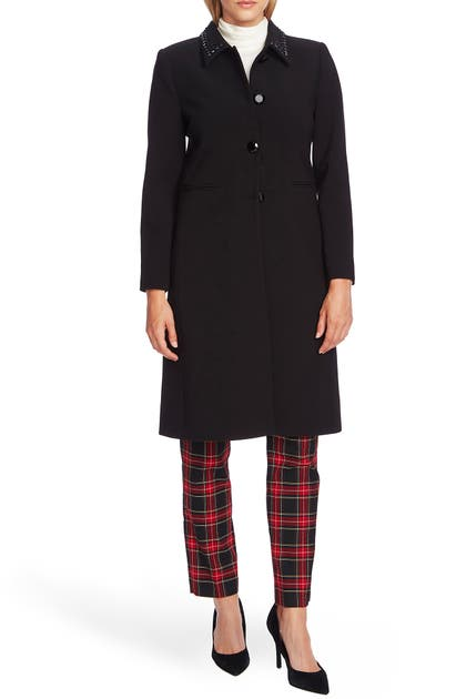 Vince Camuto Coats EMBELLISHED COLLAR COAT