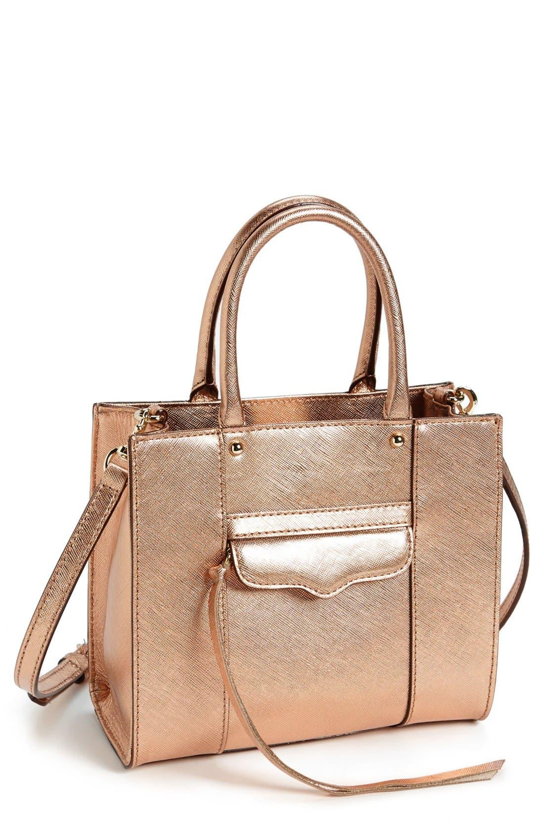 ,                             'Mini MAB Tote' Crossbody Bag,                             Main thumbnail 40, color,                             220
