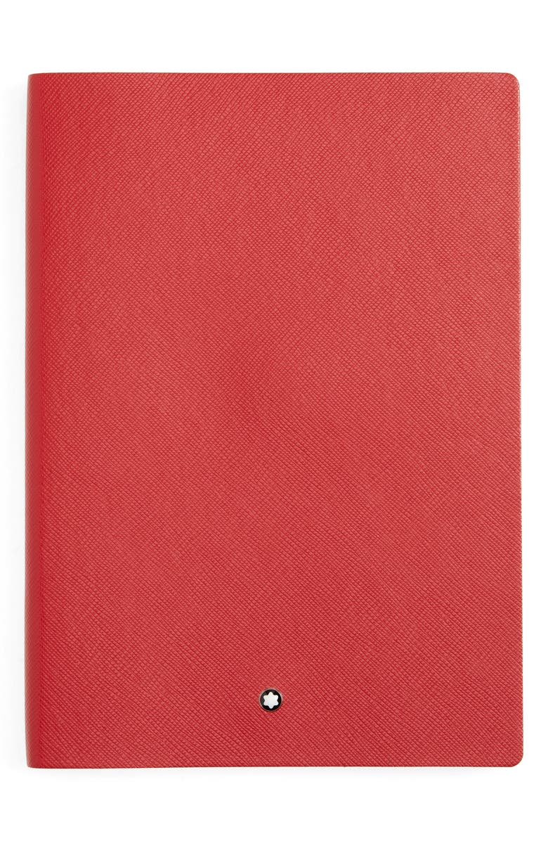 MONTBLANC Leather Lined Notebook, Main, color, 600