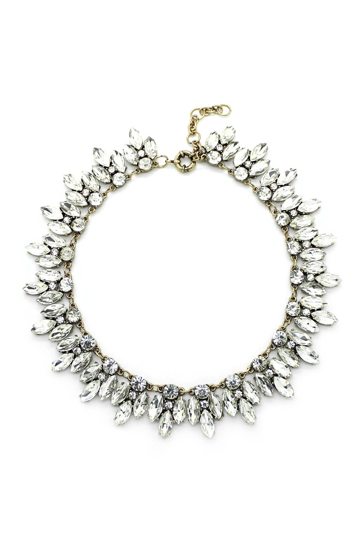 Eye Candy Los Angeles Silver Leaf Necklace at Nordstrom Rack