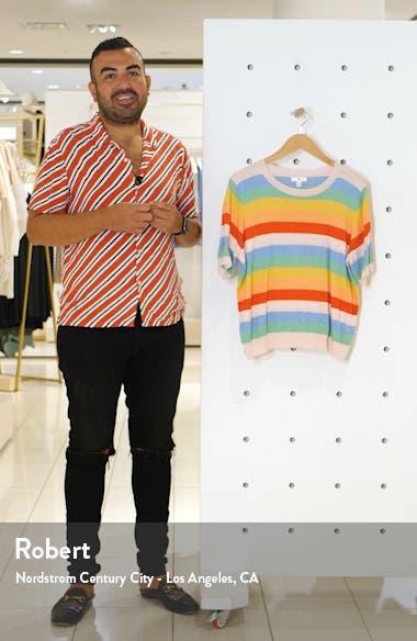 Rainbow Stripe Sweater, sales video thumbnail