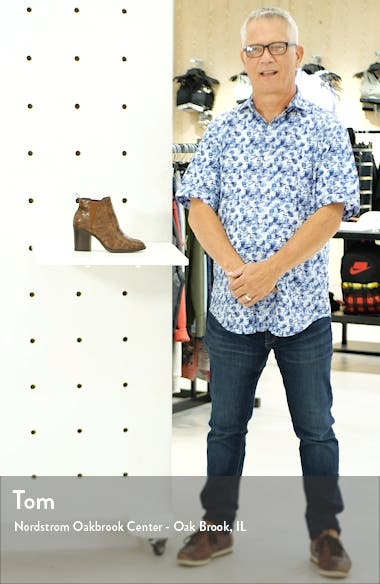 Hart Faux Leather Bootie, sales video thumbnail