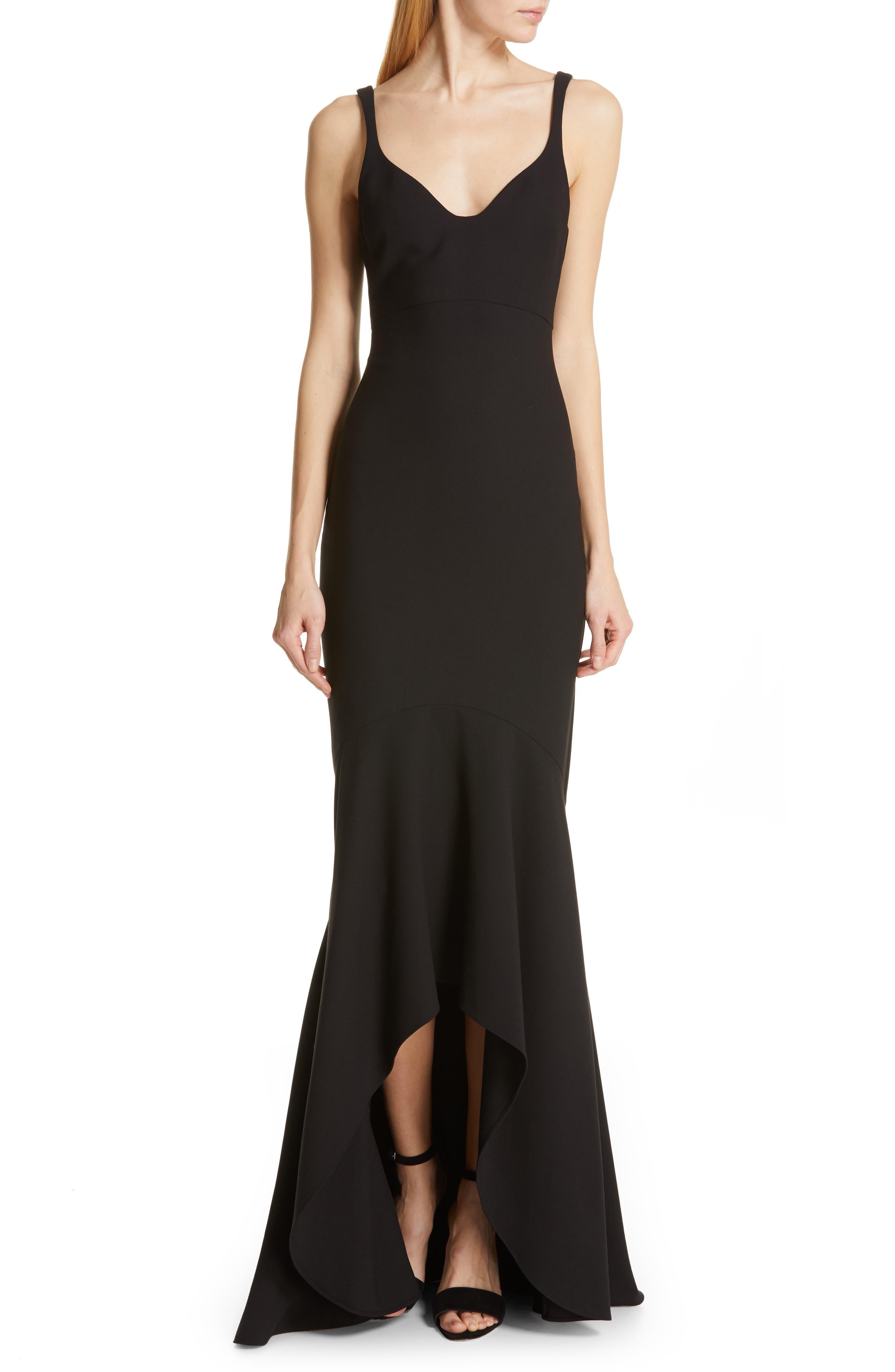 Cinq A Sept Sade Gown, Black