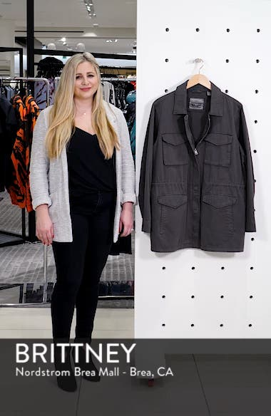 Cotton Oversize Military Jacket, sales video thumbnail