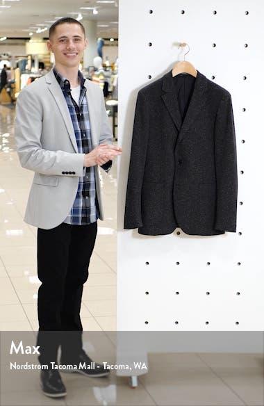 Trim Fit Essential Knit Blazer, sales video thumbnail