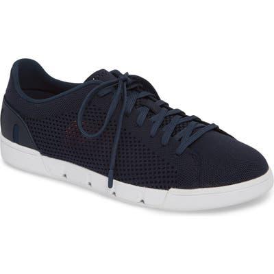 Swims Breeze Tennis Washable Knit Sneaker, Blue