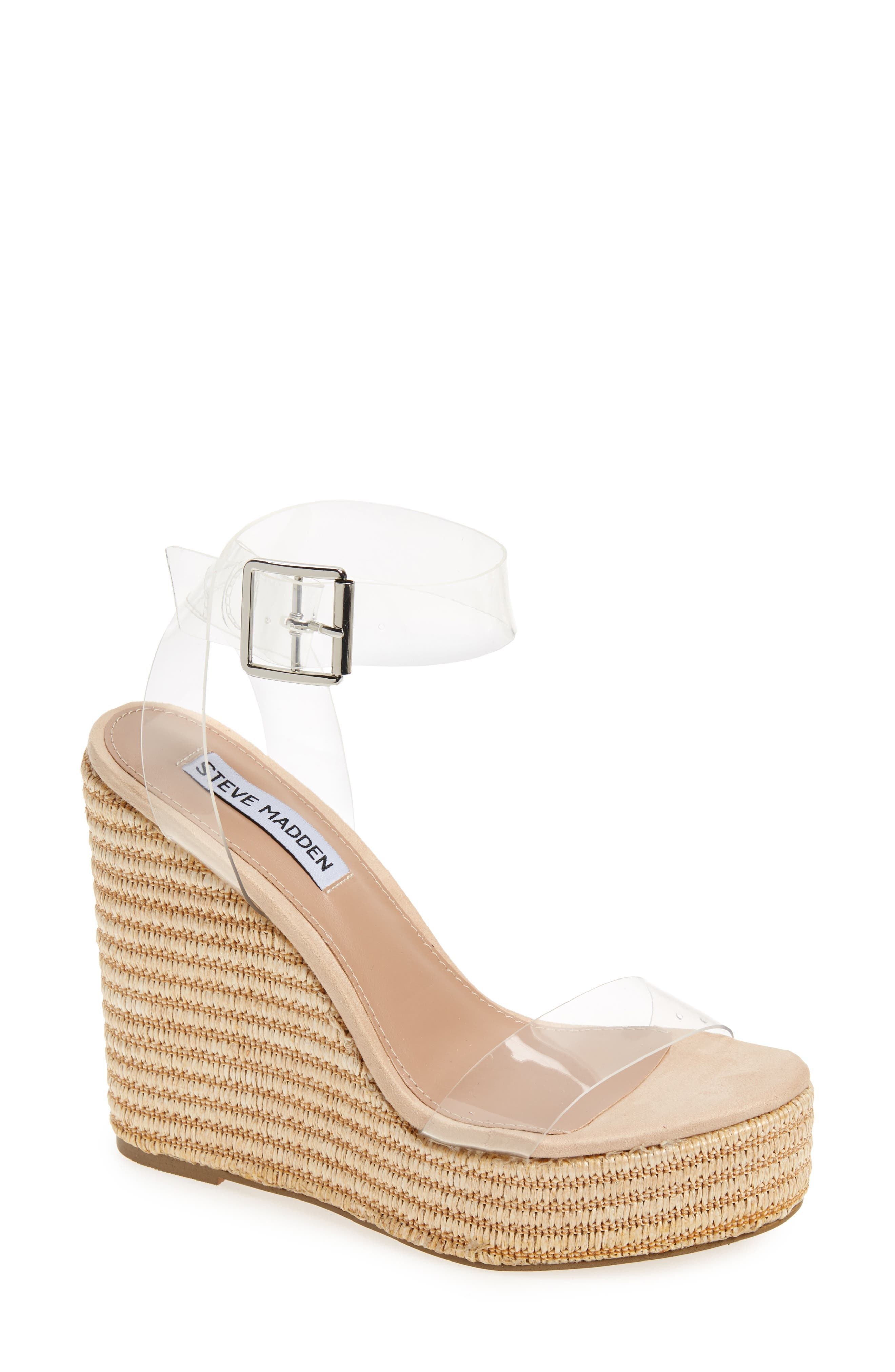 Steve Madden Maize Wedge Sandal (Women