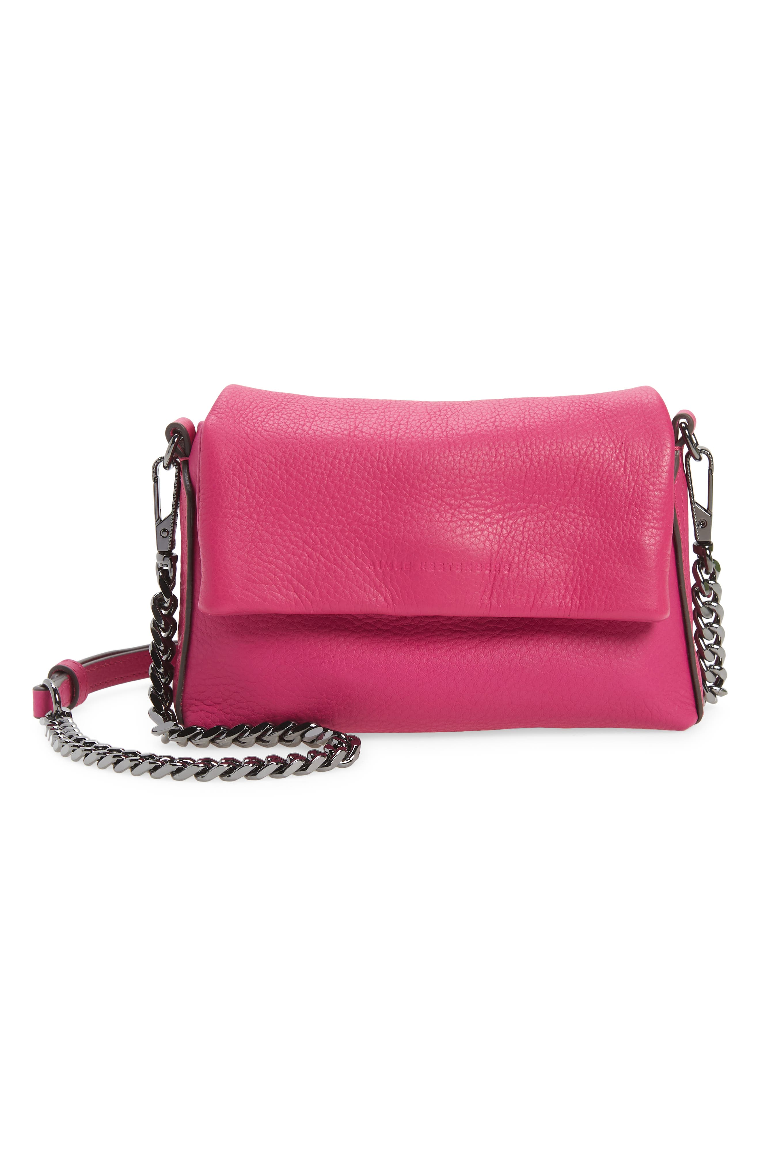 Nordy Leather Mini Crossbody Bag
