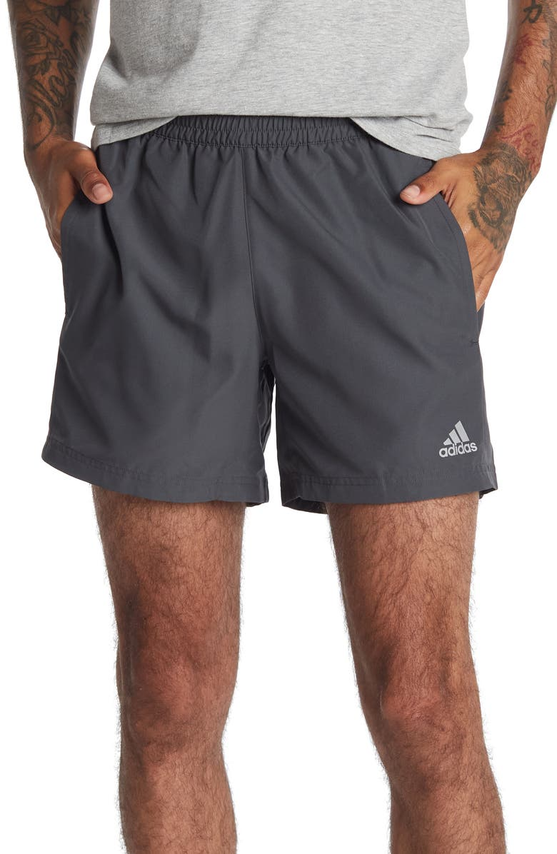 ADIDAS Run It Shorts, Main, color, DGH SOLID GREY