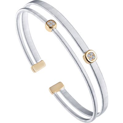 Lafonn Simulated Diamond Two-Strand Bangle