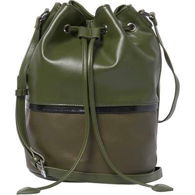 Urban Originals Love Me Vegan Leather Bucket Bag - Green