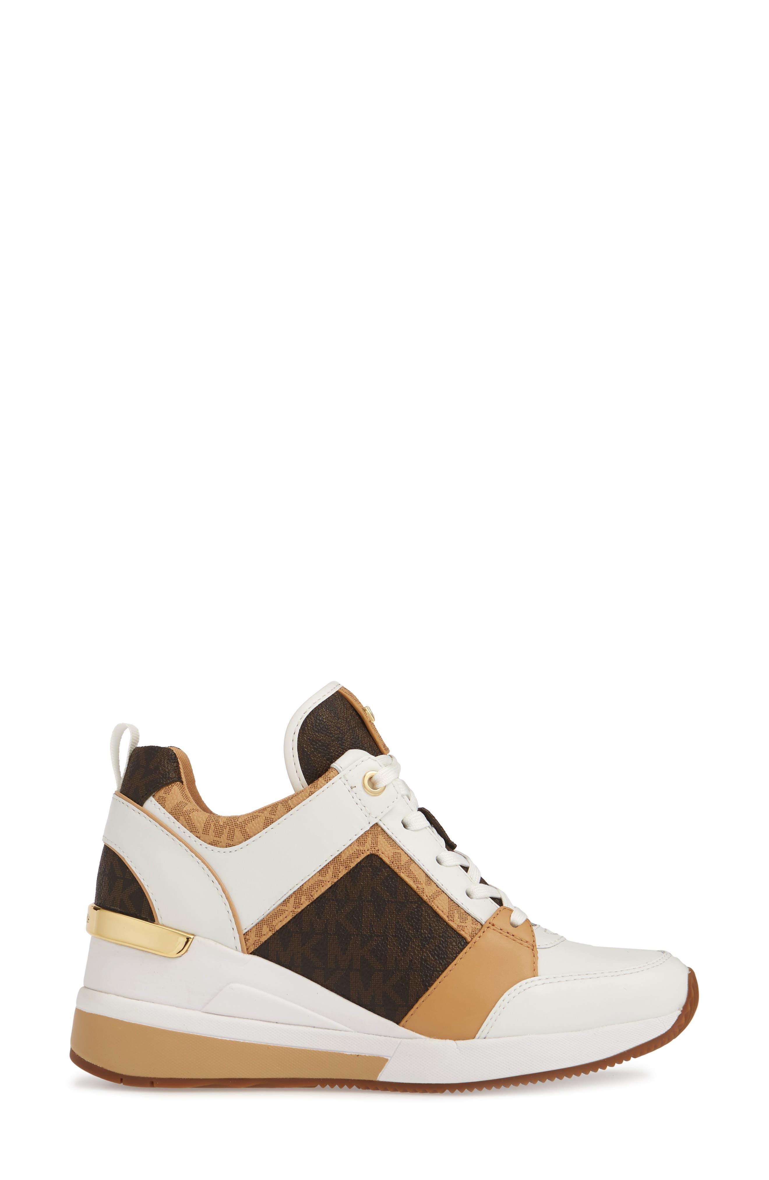 ,                             Georgie Wedge Sneaker,                             Alternate thumbnail 21, color,                             250