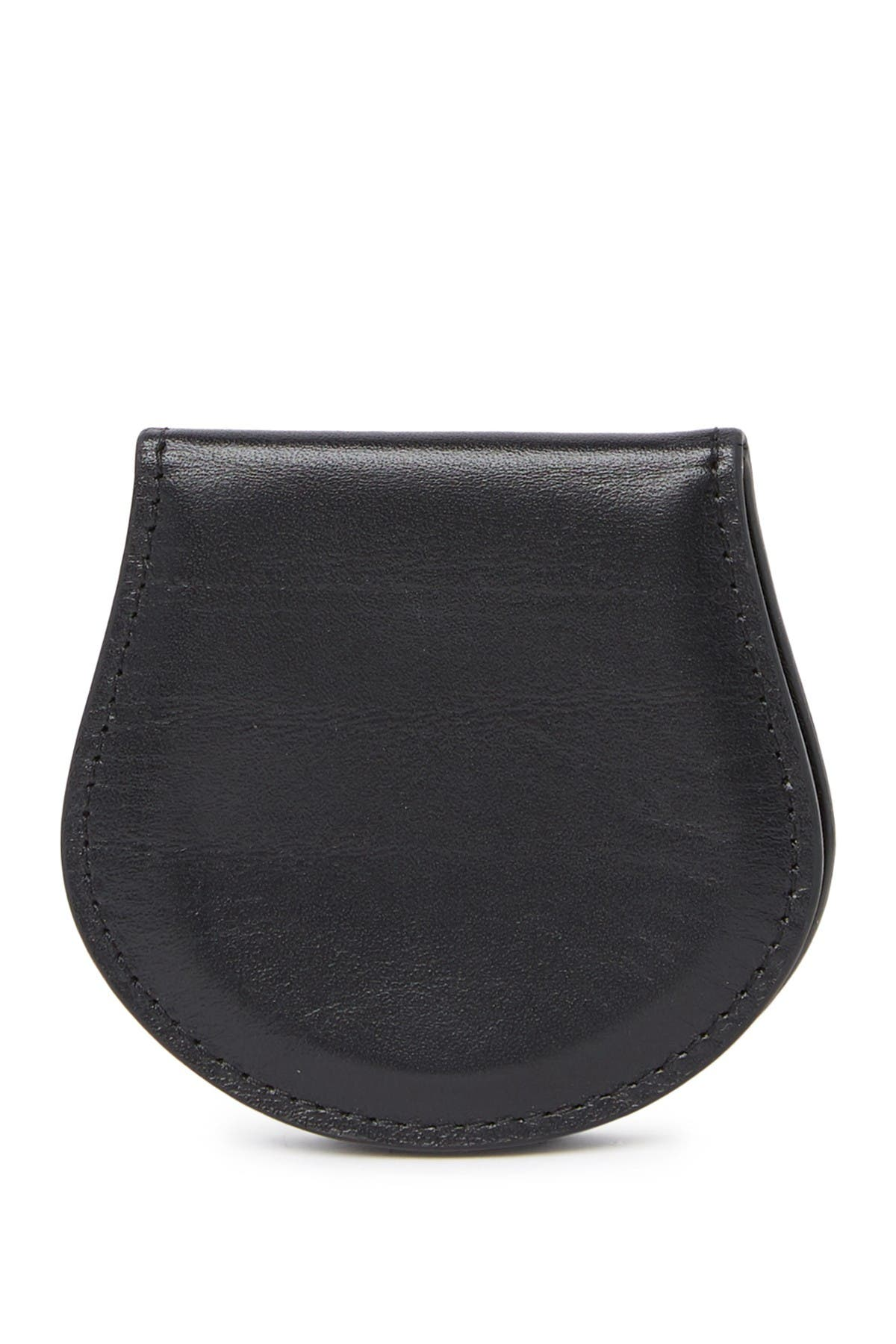 Image of BOSCA Leather Coin Purse
