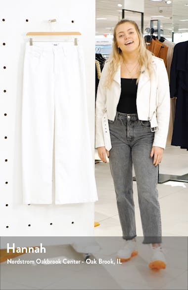 Sutton High Waist Wide Leg Jeans, sales video thumbnail