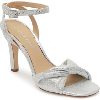 Etienne Aigner Martina Ankle Strap Sandal- Metallic