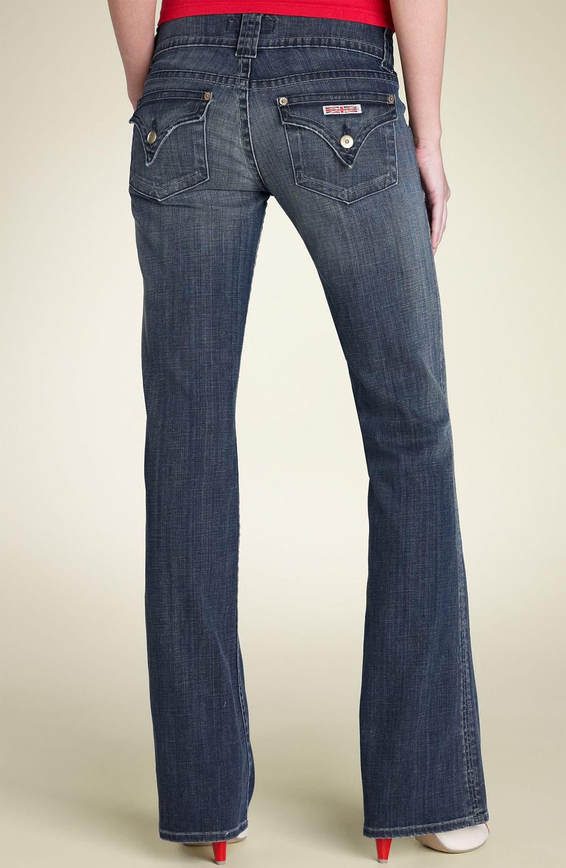 ,                             Signature Flap Pocket Bootcut Jeans,                             Alternate thumbnail 71, color,                             475
