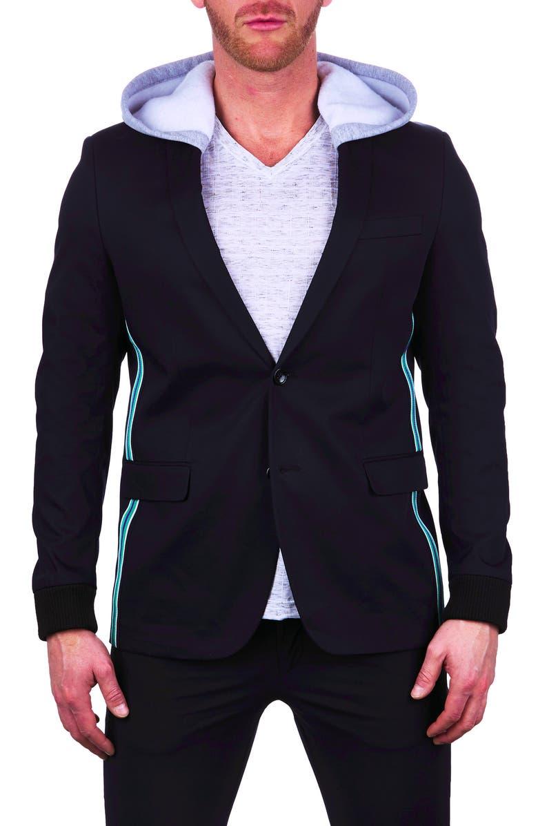 MACEOO Socrates Hooded Blazer, Main, color, 007