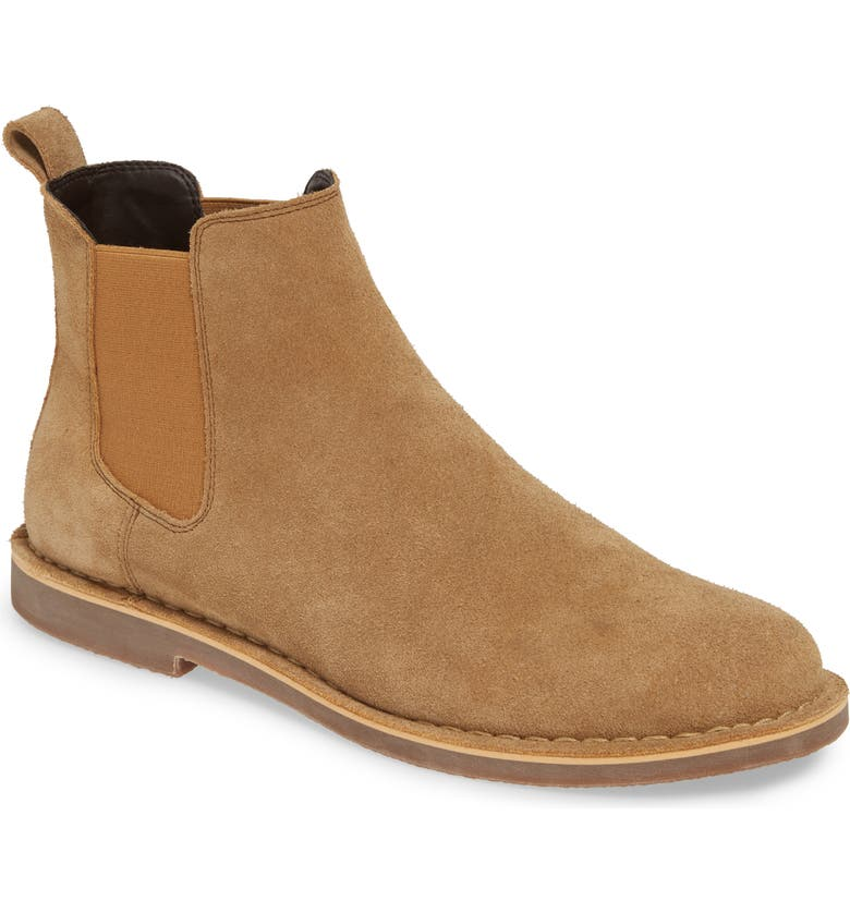 BP. Payson Chelsea Boot, Main, color, SAND SUEDE