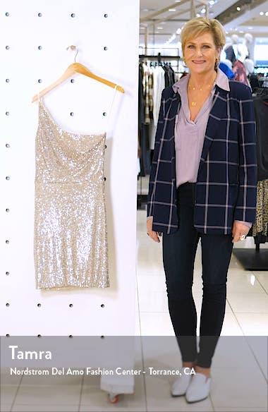 One Shoulder Sequin Minidress, sales video thumbnail