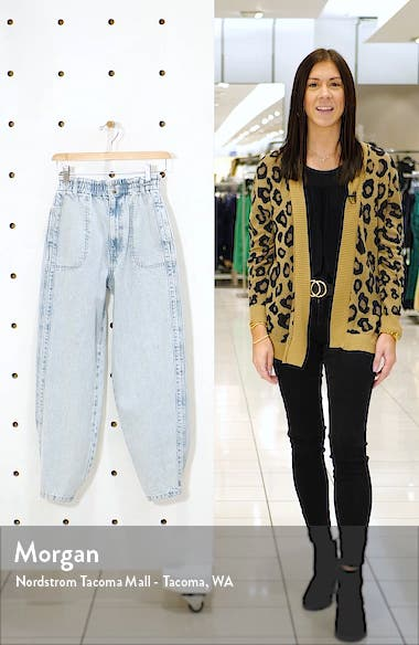 Elastic Waist Baggy Jeans, sales video thumbnail