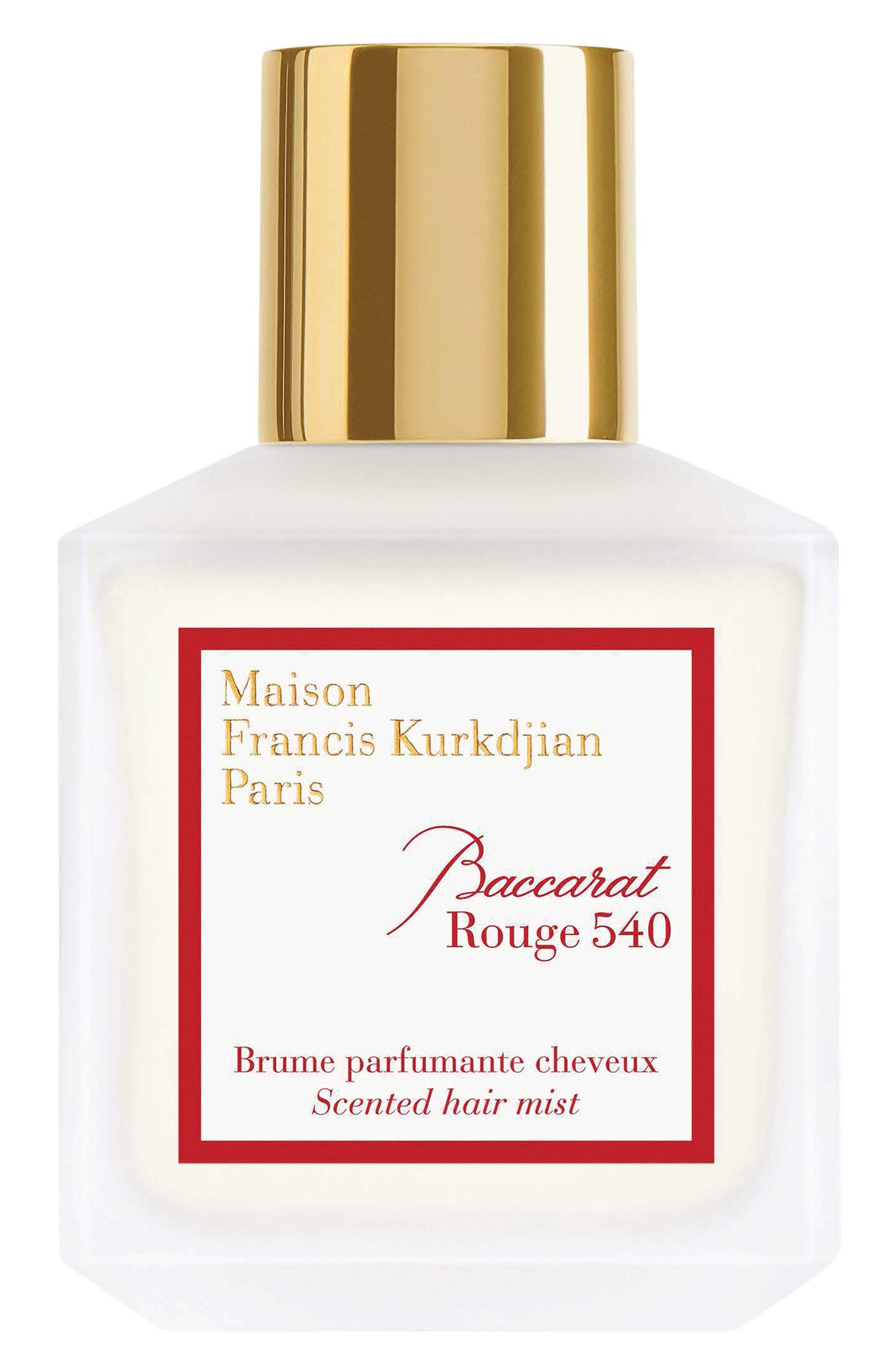 Paris Baccarat Rouge 540 Scented Hair Mist