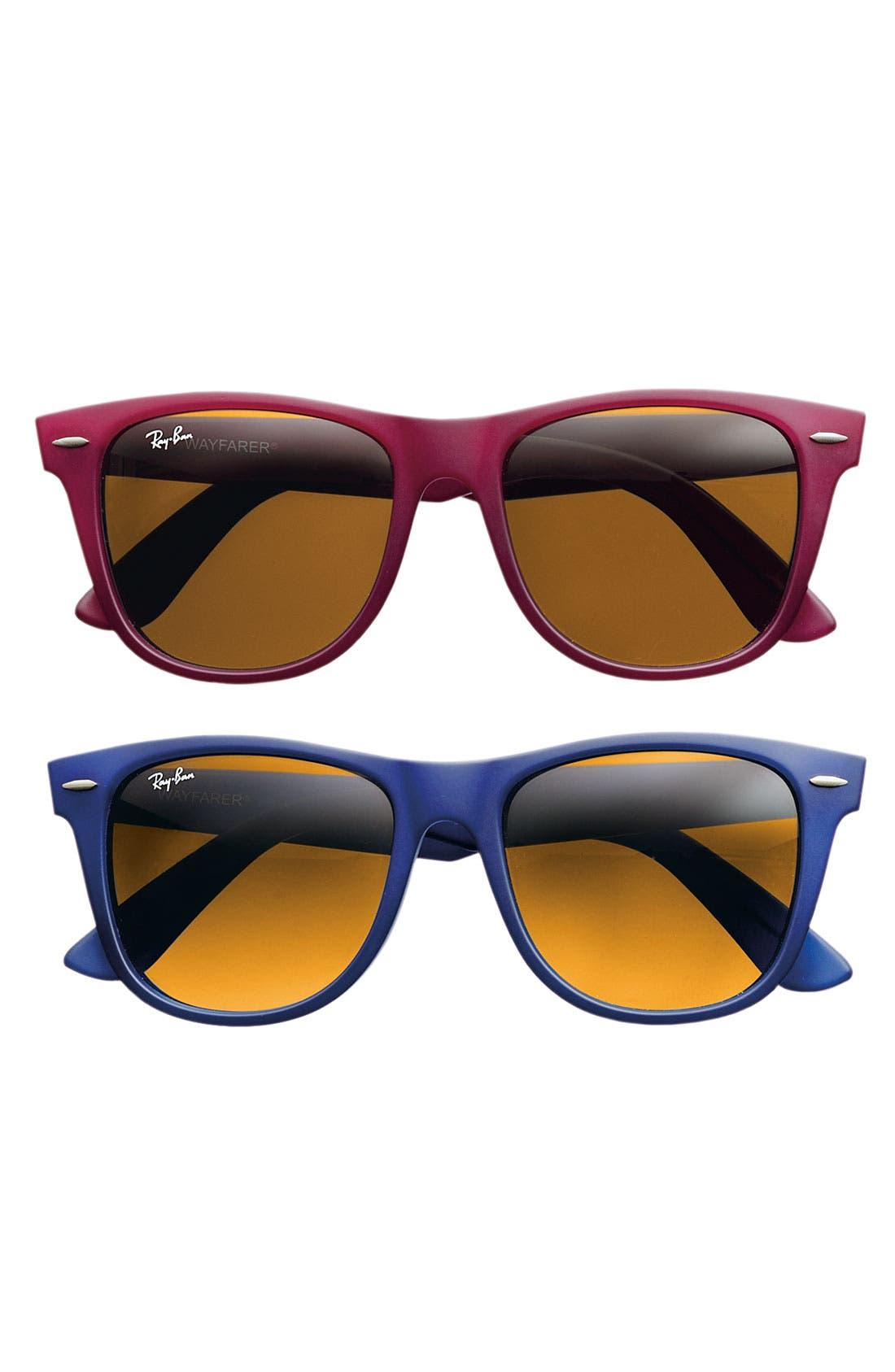,                             Large Classic Wayfarer 54mm Sunglasses,                             Alternate thumbnail 8, color,                             418
